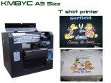 Barato dirigir a la impresora de la ropa de Kmbyc con tinta de la materia textil del color de la importación