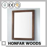 Frame de madeira do espelho do Teak da madeira contínua para a decoração Home
