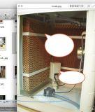 Opgezet venster/Koeler van de Lucht van het Water van de Ventilator van de Lucht van het Dak de Koelere Verdampings