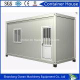 Huis van de Container van het Huis van lage Kosten het Prefab Mobiele van de Lichte Structuur van het Staal