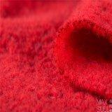 Tessuto di /Polyester delle lane nel colore rosso