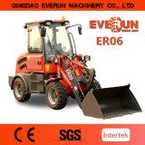 Everun Minicargadora Er06 con Joystick eléctrico , Italia hidrostática Conducción
