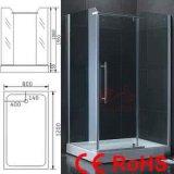 Het Aangemaakte Glas van de Zaal/van de Badkamers/van de Douche van de douche Deuren