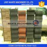 Tuiles de toiture colorées en métal de poids léger