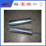 Rolos Nonmagnetic do transporte, rolo de nylon do rolo inoxidável, rolo de UHMWPE