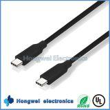 100W Supermacht 10gbps verdoppeln Typ, C der USB-3.1, zum des c-Daten USB-Kabels zu schreiben