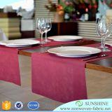 Preiswertes quadratisches Tisch-Tuch, grundlegende Polytischdecke, weiße Tischdecke