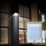 Energie - Licht van de Sensor van de Lamp van de Muur van het Album van het Lichaam van de Binnenplaats van de besparing het Zonne