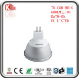 Hete Verkopende Koude LEIDENE van Epistar van de MAÏSKOLF van het Aluminium van het Smeedstuk 7W MR16 Bollen