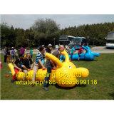 Sport-Spiel-aufblasbares Gleiskettenfahrzeug, riesige aufblasbare Gleiskettenfahrzeug-Spielwaren