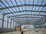 Edificio prefabricado del almacén de la estructura de acero del palmo grande