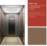 Elevatore del passeggero con la decorazione di lusso per l'hotel o l'ufficio
