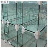 シャワー・カーテンのための3-19mmの金庫の和らげられたか、または強くされたガラス