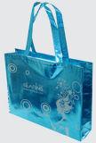 Sacchetto blu non tessuto laminato progettista promozionale (LJ-107)