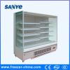 Eingebauter Kompressor Multideck geöffnete Bildschirmanzeige-Kühlvorrichtung für Gemüse und Früchte