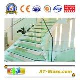 vetro Tempered di 3~19mm usato per la stanza da bagno/portello/finestra/la mobilia/la costruzione ecc