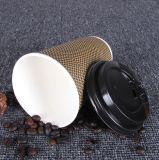 Papiercup der Kräuselung-4oz für heißes Getränk