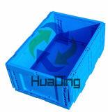 sloot het Opvouwbare Vaste lichaam van 600*400*320mm het Krat van de Plastic Container
