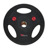 Piatto Bumper di gomma di Weightlifting olimpico di forma fisica/piatto del Barbell per Crossfit