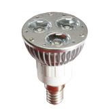 E14 3W LEDのスポットライトの球根