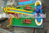 Opblaasbare bergbeklimming met diauitsmijter, Inflatable grote uitsmijter, grote dia Inflatable