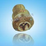Продетый нитку латунный задерживающий клапан (тип: H11X)