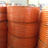 Mangueira de jardim flexível alaranjada do PVC para a mangueira da água de irrigação da água
