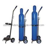 Carrelli portatili del cilindro di ossigeno per le piccole bombole per gas