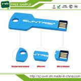 무료 샘플 기가 바이트 USB 플래시 드라이브 키 모양