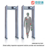 LCD Screen Waterproof Waterproof Door Frame Metal Detector mit Mobile Remote