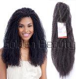 Cabelo Curly Kinky do Synthetic de Dreadlocks do cabelo da trança de Kanekalon da torção