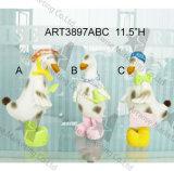 Convite Containter Decoration-3asst del buho de la decoración de Pascua