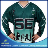 Ice Hockey Game를 위한 주문 Sublimation Printing Ice Hockey Garment