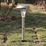 Lumière solaire d'acier inoxydable pour le patio de pelouse de jardin (RS032)