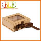 Boîtes-cadeau réutilisées de papier d'emballage avec la bande