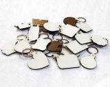 장식적인 나무로 되는 예술 기술 승화 MDF 열쇠 고리