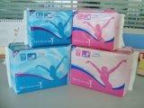 Almofadas sanitárias das mulheres biodegradáveis da fibra natural de 100%