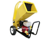 сад Wood Chipper Shredder Cutting 100mm 15HP 420cc Manual