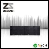 Système de haut-parleur bas secondaire commercial sonore mono de PA de 18 pouces de Zsound S118h