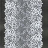 Het elastische Kant van het Tricot van Nylon Spandex Composation