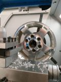 L'aluminium de roue de véhicule borde la machine de commande numérique par ordinateur de tour de réparation pour les roues Wrm28h d'alliage
