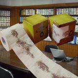 Поставщик оптовой продажи ткани туалета Китая напечатанный таможней