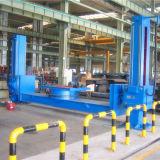 Positionneur jumeau de forme irrégulière de soudure de pilier pour le réservoir de remorque