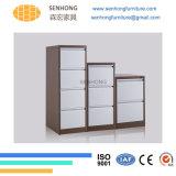Casellario d'acciaio del metallo dei cassetti di memoria di archivio di uso dell'ufficio 2