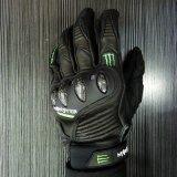 Полный мотоцикл напольных спортов перста кожаный участвуя в гонке перчатки (MAG72)