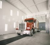 12m Heat Spraying, Baking Industrial Spray Booth