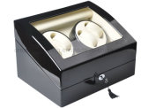 4+6 Spoel van het Horloge van de Piano van de hoogste Kwaliteit de Zwarte Automatische Houten