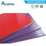 Comitato composito di alluminio lucido a prova di fuoco di colore Acm/ACP per la decorazione della parete
