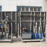 Máquina de rellenar del sellante automático de cristal de la doble vidriera