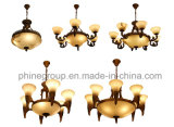 Phine 스페인 대리석 펀던트 램프로 만드는 유럽 실내 장식 점화